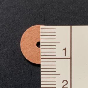 Scheibengelenk Hartpappe 12 mm   /   10 Stück