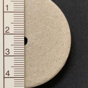 Scheibengelenk Hartpappe 45 mm   /   10 Stück