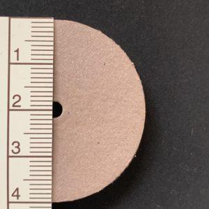 Scheibengelenk Hartpappe 40 mm   /   10 Stück