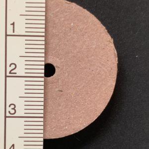 Scheibengelenk Hartpappe 35 mm   /   10 Stück