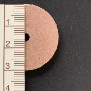 Scheibengelenk Hartpappe 30 mm   /   10 Stück