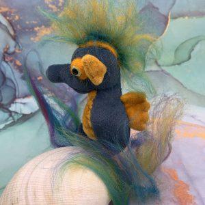Bärino Seepferdchen Oskar 10 cm Künstlerbär