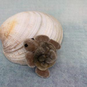 Bärino Schildkröte Philomena 4 cm Künstlerbär