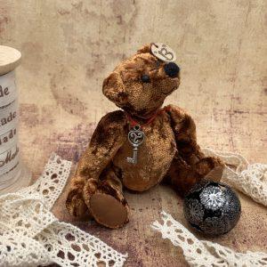 Bärino Bär Old Brownie 12 cm Künstlerbär