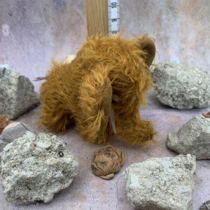 Bärino Mammut Peaches 8 cm Künstlerbär