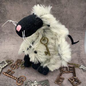Bärino Ratte Pedro 14 cm Künstlerbär
